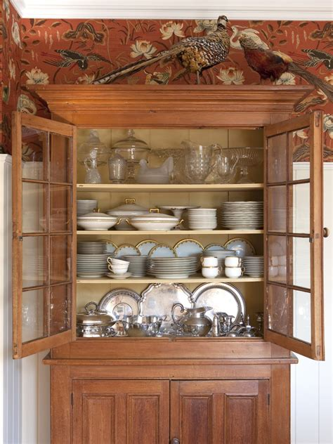 what to put on top of china cabinet photos hgtv