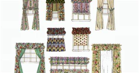 sewing cafe curtains instructions cafe curtains drapes panels balloon pouf valance shade
