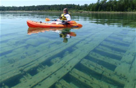 glass bottom boat ride alpena mi great lakes shipwrecks and maritime history alpena