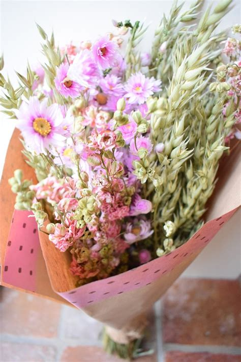 Bloom Box Big Pink Preserved Flower Best For Gift large mixed dried flower bouquet pink daisyshop dried flowers