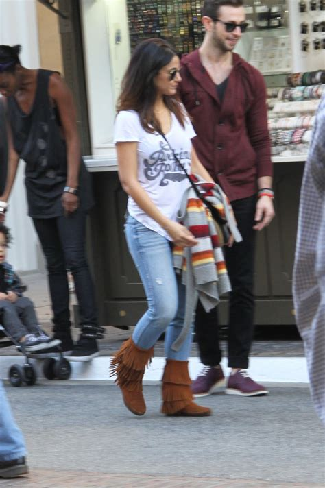 Style Emmanuelle Chriqui by Emmanuelle Chriqui Style At The Grove In Los