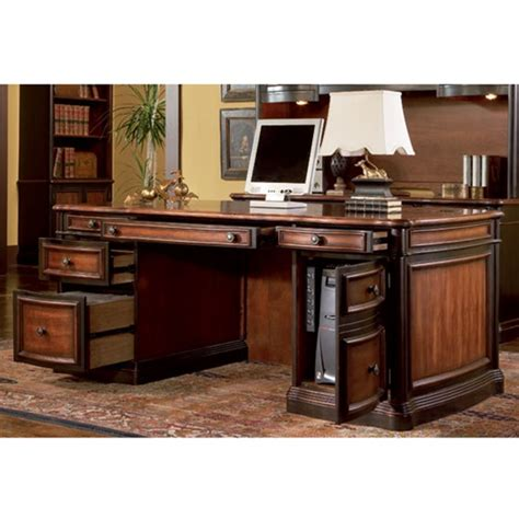 executive desk and hutch set 7150 70 5 pc home office executive set desk computer
