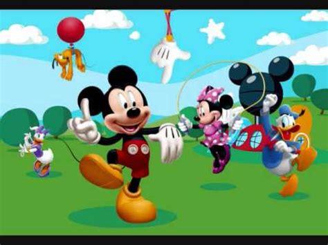 mickey y sus amigos mickey mouse y sus amigos hermosas rondas infantiles parte 1 youtube