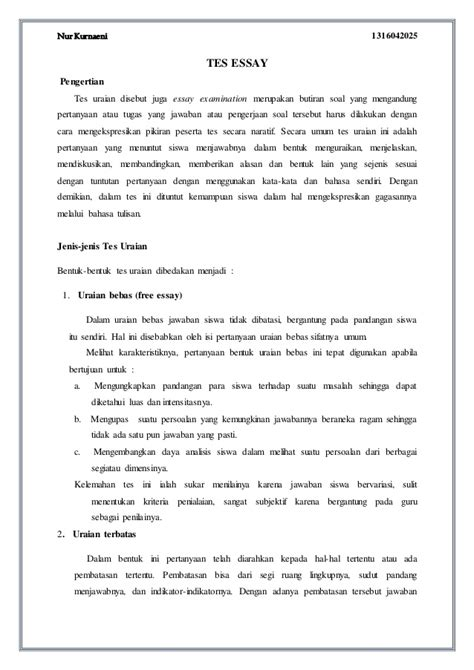contoh membuat essay yang baik contoh format thesis