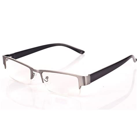 half frame anti fatigue eyeglasses clear resin glasses