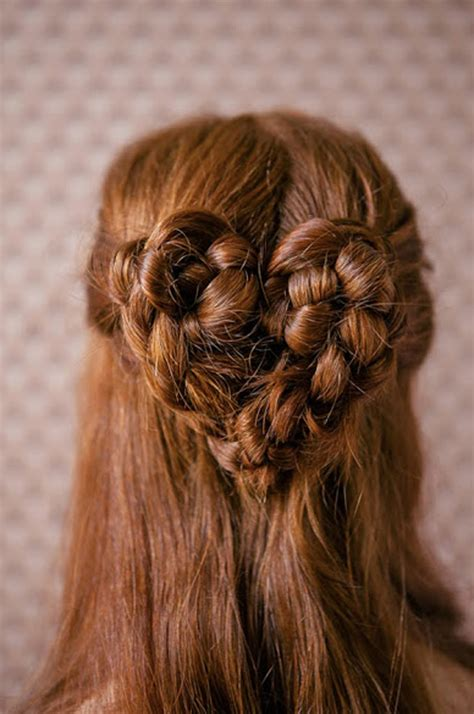 braided hairstyles heart 5 totally gorgeous holiday hairstyles for little girls