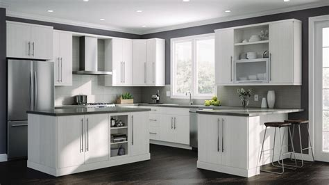 edgeley double oven cabinets  glacier kitchen