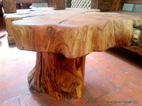 Coffee Tables Made From Tree Trunks Naturally Unique Cypress Tree Trunk Handmade Coffee Table