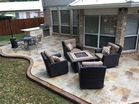 sted concrete patio san antonio diamond decks