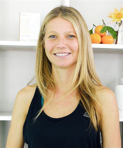 gwyneth paltrow gwyneth paltrow goes makeup free at goop launch people com