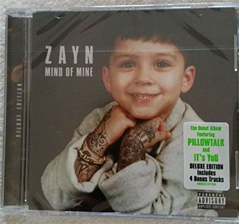 Cd Zayn Mind Of Mine Deluxe zayn malik cd covers