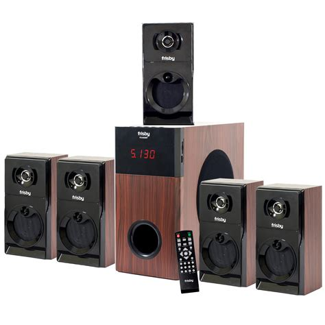 Home Theater Audio frisby fs 5030bt bluetooth 5 1 surround sound home theater system
