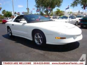 1996 Pontiac Trans Am For Sale 1996 Pontiac Firebird Trans Am For Sale In Fort Lauderdale