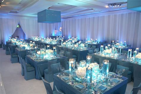 reception d 233 cor photos indoor garden inspired reception space inside weddings blue and turquoise wedding receptions reception d 233 cor photos blue and white ballroom inside