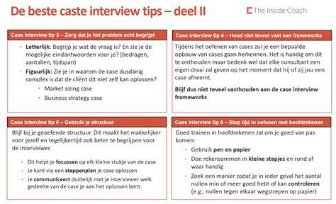 case interview case interview tips deel 2 the inside coach