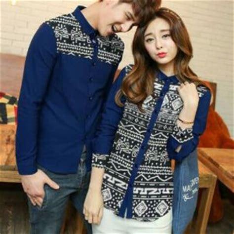 Kemeja Hem Batik Pria Lengan Panjang 86 baju kemeja dan terusan modis modern model terbaru