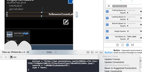 ios 8 xcode layout ios layout interface builder constraints issue since