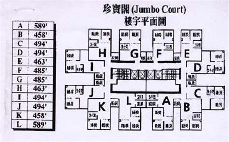 courtroom floor plan floor plan of jumbo court gohome com hk