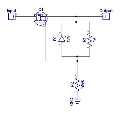 mosfet diode voltage drop polarity protection using mosfet what is the