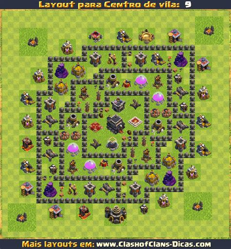 layout gratis layouts de cv9 clash of clans clash of clans dicas gemas gr 225 tis tutoriais e layouts