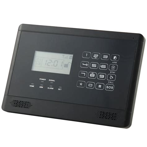 wired house alarm system wireless wired lcd touch keypad gsm sms home house alarm