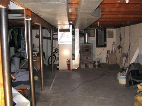low profile ductwork basement basement furnace search it finished basements and basements