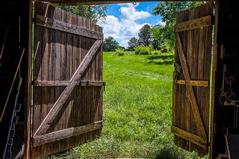 Open Barn Door Barn Doors Pictures Images And Stock Photos Istock