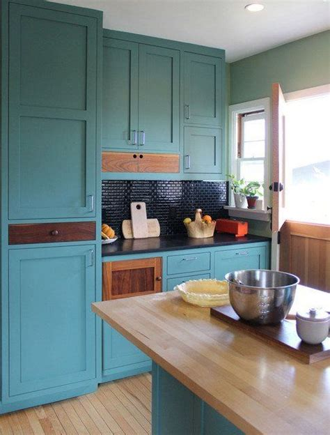 teal cabinets kitchen paint color portfolio teal kitchens