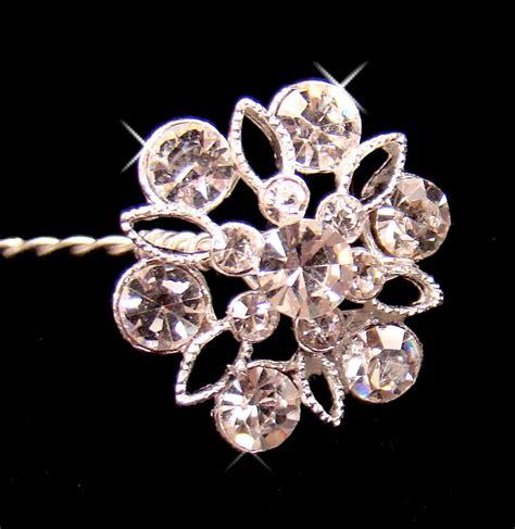 Wedding Bouquet Jewelry Stems by Bouquet Jewelry Bq 211 Silver Or Gold