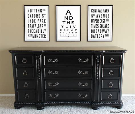 Large Black Dresser Dalloway Place New Website Etsy Shop Plus A Black