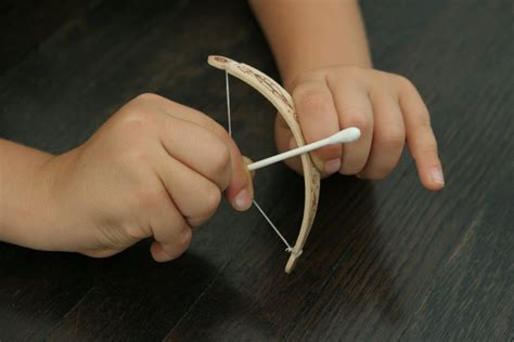 How To Make A Bow And Arrow With Paper - the brooding hen tiny bow arrow