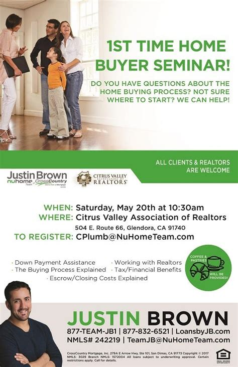 5 20 time home buyers seminar