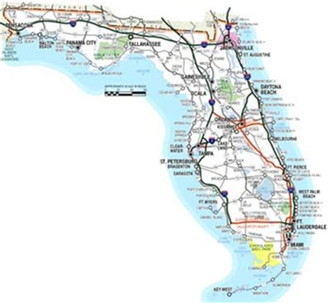 interactive florida map funcierge