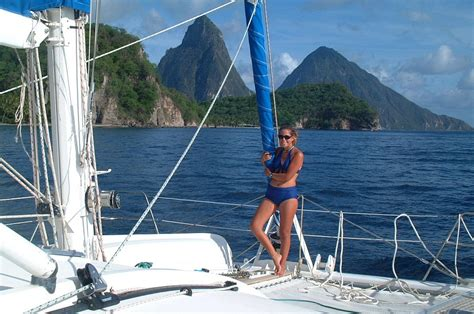catamaran vs monohull ocean sailing why sail a catamaran