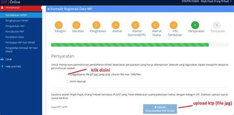 cara membuat npwp online di surabaya cara membuat npwp online