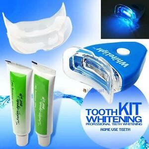 professional teeth whitening kit uv light oral bleaching