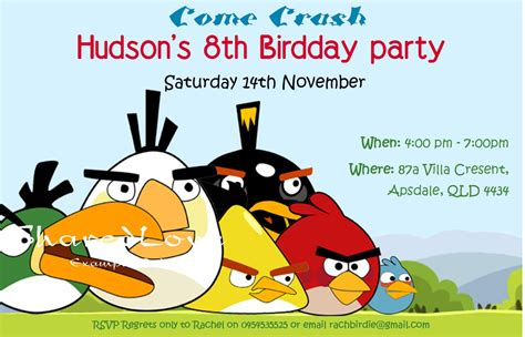angry birds birthday invitation template free angry bird invitations templates ideas diy angry birds