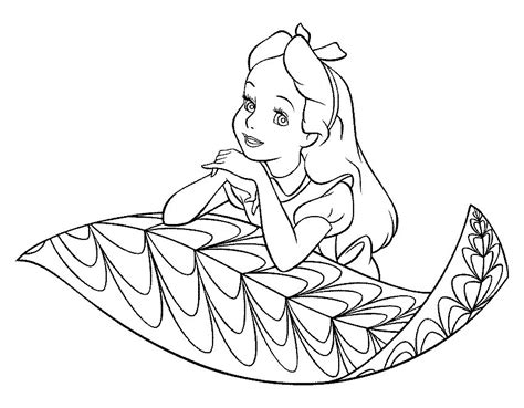 gothic alice in wonderland coloring pages coloring pages