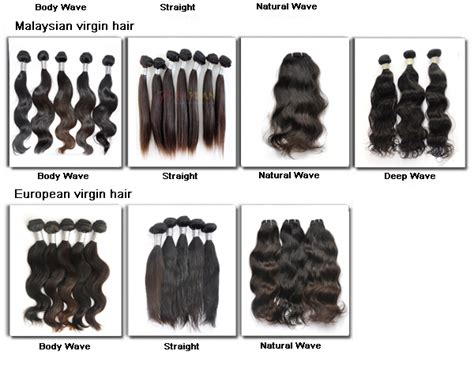 Different Types Of Human Hair Extensions by 4 Aaaaa Top Quality Human Remy Silky Malaysian