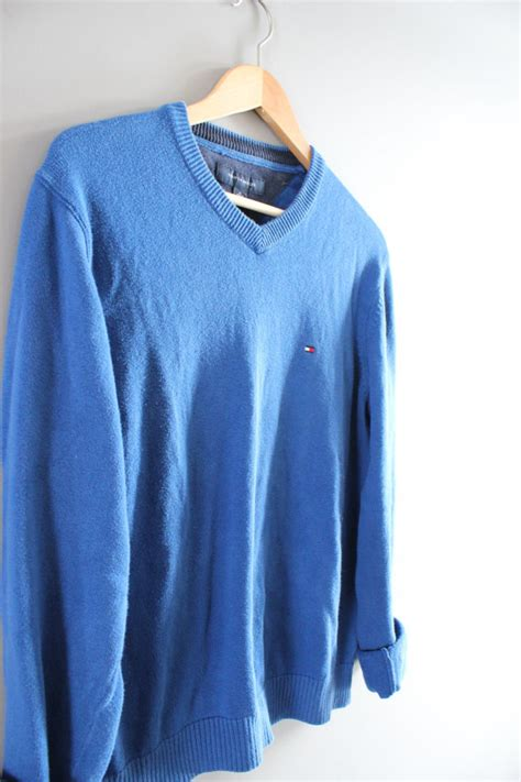 Sweater Unisex Polos Pink hilfiger sweater blue cotton sweater blue pullover