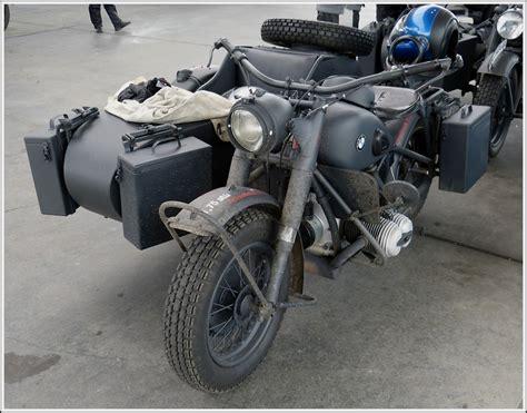 Motorrad Und Beiwagen by Bmw Motorrad Mit Beiwagen Aus Den 50ger Jahren Aufgenommen