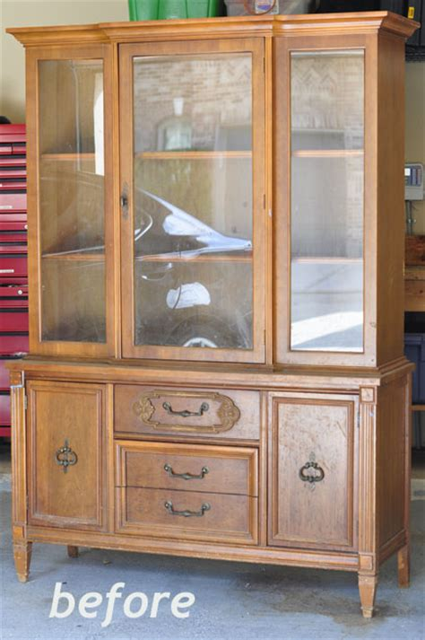 repurpose old china cabinet mia dolce originals modern quilts and diy projects