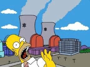 homer simpson nuclear power plant car interior design
