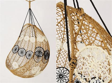 knotted melati hanging chair knotted melati hanging chair gardenista