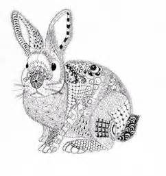 efie zentangle ben kwok rabbit dessin zentangle 226 ques lapin