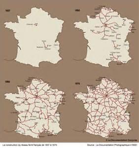 cartographie du r 233 seau ferroviaire au xix 176 si 232 cle