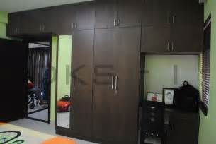 Wardrobe Designs With Study Table by Children S Bedroom Wardrobe Dressing Unit Study