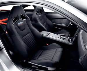 Ford Racing Seats Upholstery Leather