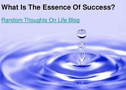 Image result for what is the essence of life essay