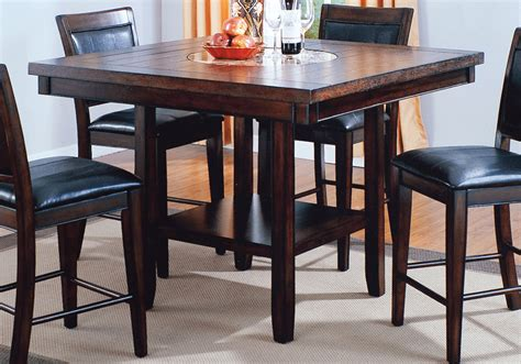 fulton counter height dining table evansville overstock